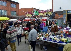 Flohmarkt Wochenende Karoviertel