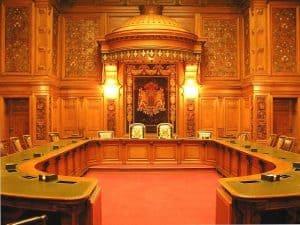 Freie und Hansestadt Hamburger Senat Saal
