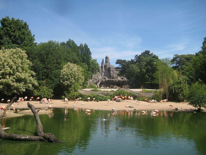 Hagenbecks Tierpark Afrika Anlage (Panorama)