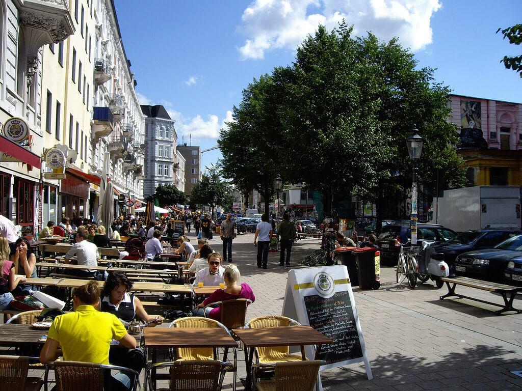 Schanzenviertel Hamburg Cafes