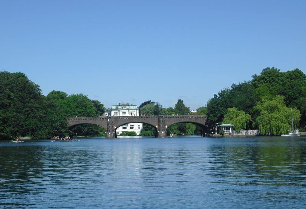 Alsterbrücke Hamburg grünste großstadt europas preis