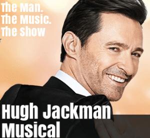 Hugh Jackman Musical Karten