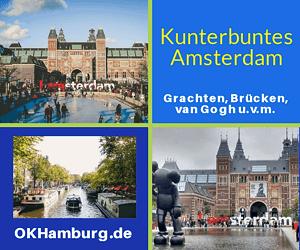 Städtereise Amsterdam mit Flug