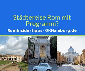 städtereise rom mit programm